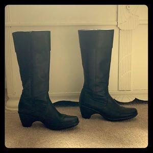 Dansko Black Leather Boots size 39